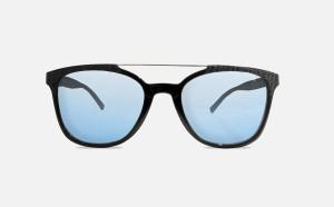 Occhiale da Sole FLAVIA MARTIGNON - Squadrato Nero