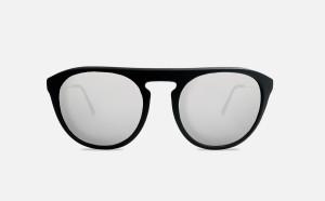 Occhiale da Sole FLAVIA - Nero con Lenti Grigie