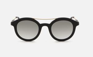 Occhiale da Sole FLAVIA MARTIGNON - Rotondo Nero